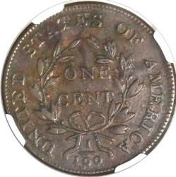 Moneda > 1centavo, 1796-1807 - Estados Unidos  (Draped Bust Cent) - reverse