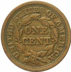 Νόμισμα > 1Σέντ, 1840-1857 - Η.Π.Α  (Liberty Head Cent) - reverse