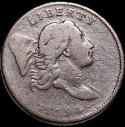 Munt > ½cent, 1794-1797 - Verenigde Staten  (Liberty Cap Half Cent) - obverse