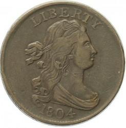 Moneda > ½centavo, 1800-1808 - Estados Unidos  (Draped Bust Half Cent) - obverse