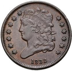 Монета > ½цента, 1809-1835 - США  (Classic Head Half Cent) - obverse