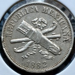 Νόμισμα > 2Σεντάβος, 1882-1883 - Μεξικό  - obverse