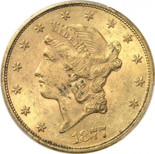 20 Dollar 1877 Double Eagle Usa Münzen Wert Ucoinnet