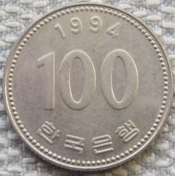 Moneta > 100vonų, 1994 - Pietų Korėja  - reverse