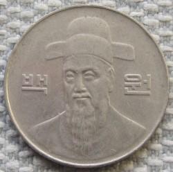 Moneta > 100vonų, 1999 - Pietų Korėja  - obverse