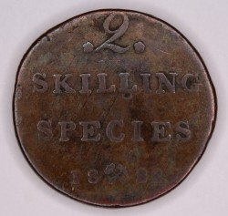Moneta > 2skilingai, 1822-1834 - Norvegija  - reverse