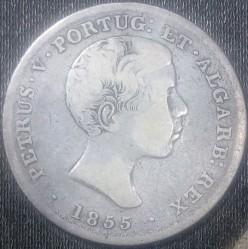 Кованица > 500реиса, 1855-1856 - Португал  - obverse