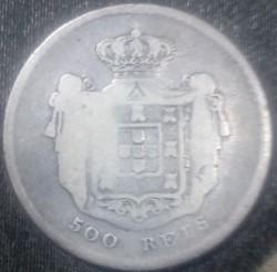 Кованица > 500реиса, 1855-1856 - Португал  - reverse
