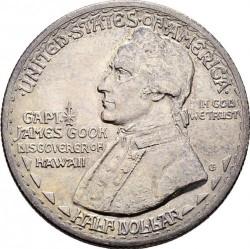 Moneta > ½dollara, 1928 - USA  (150 rocznica - Odkrycie Hawajów) - obverse