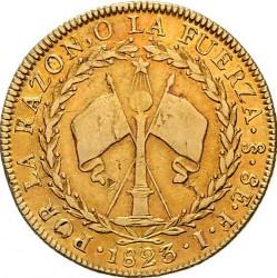 Монета > 8ескудо, 1818-1834 - Чилі  - reverse
