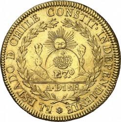Монета > 8ескудо, 1818-1834 - Чилі  - obverse