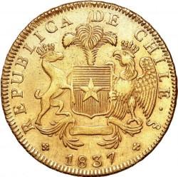 Монета > 8ескудо, 1835-1838 - Чилі  - obverse