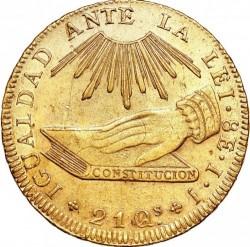 Монета > 8ескудо, 1835-1838 - Чилі  - reverse