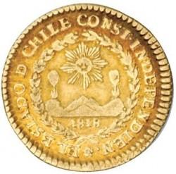 Монета > 1ескудо, 1824-1834 - Чилі  - obverse
