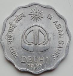 Moneta > 10paise, 1982 - Indie  (IX Igrzyska Azjatyckie) - reverse