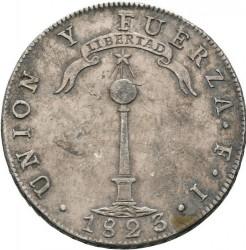 Moneta > 1peso, 1817-1834 - Cile  - reverse
