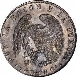 Münze > 8Reales, 1839-1840 - Chile  - obverse