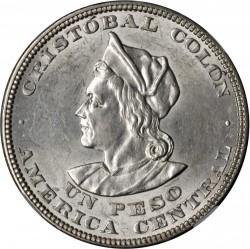 Mynt > 1peso, 1892-1914 - El Salvador  - reverse