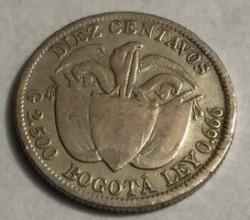 Moneta > 10sentavų, 1897 - Kolumbija  - reverse