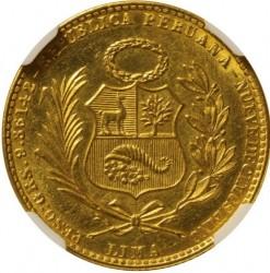 Moneta > 20soles, 1951 - Perù  - obverse