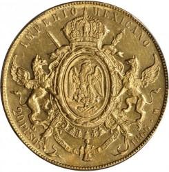 Münze > 20Pesos, 1866 - Mexiko  - reverse