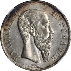 Moeda > 1peso, 1866-1867 - México  - obverse