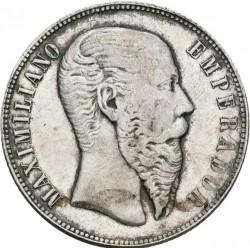 Münze > 50Centavos, 1866 - Mexiko  - obverse