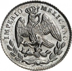 Moeda > 5centavos, 1864-1866 - México  - obverse
