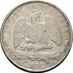 Moneda > 1peso, 1869-1873 - México  - obverse