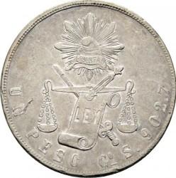 Münze > 1Peso, 1869-1873 - Mexiko  - reverse