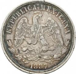 Münze > 50Centavos, 1869-1895 - Mexiko  - obverse