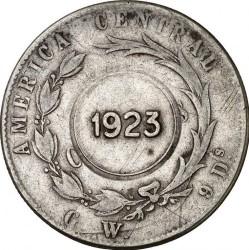 Монета > 1колон, 1880-1890 - Коста-Ріка  - obverse