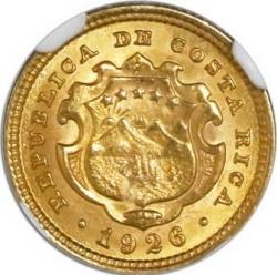 Монета > 2колона, 1897-1928 - Коста-Ріка  - obverse