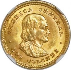 Монета > 2колона, 1897-1928 - Коста-Ріка  - reverse
