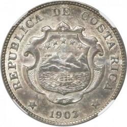 Münze > 50Centimos, 1902-1914 - Costa Rica  - obverse