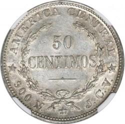 Münze > 50Centimos, 1902-1914 - Costa Rica  - reverse