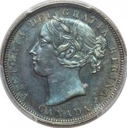 Монета > 20цента, 1858 - Канада  - obverse