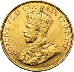 Coin > 10dollars, 1912-1914 - Canada  - obverse