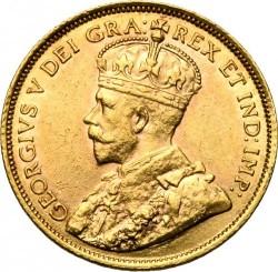 Münze > 5Dollar, 1912-1914 - Kanada   - obverse
