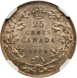 Coin > 25cents, 1920-1936 - Canada  - reverse