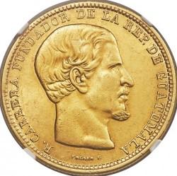 Moneta > 20pesos, 1869 - Guatemala  - obverse