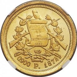 Moneta > 5pesos, 1872-1878 - Guatemala  - obverse