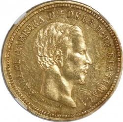 Монета > 4песо, 1861-1862 - Гватемала  - obverse