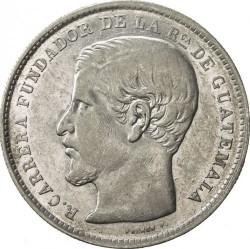 Moneda > 1peso, 1866-1869 - Guatemala  - obverse