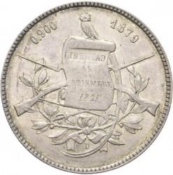 Монета > 1песо, 1878-1879 - Гватемала  - obverse