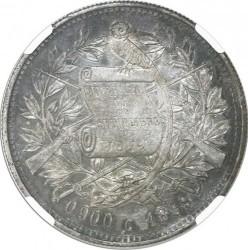 سکه > 1پزو, 1888-1889 - گواتمالا  - obverse