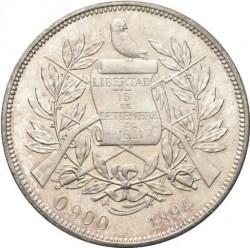 سکه > 1پزو, 1894-1897 - گواتمالا  - obverse