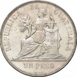 سکه > 1پزو, 1894-1897 - گواتمالا  - reverse