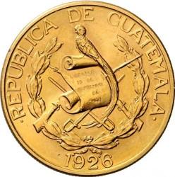 سکه > 20کوتزال, 1926 - گواتمالا  - obverse