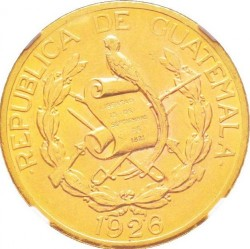 Moneda > 10quetzal, 1926 - Guatemala  - obverse